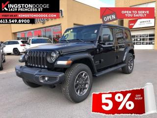 New 2021 Jeep Wrangler Unlimited Sport 80th Anniversary | Nav | Dual Tops for sale in Kingston, ON
