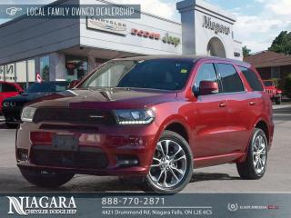 Used 2019 Dodge Durango GT | NAVIGATION for sale in Niagara Falls, ON