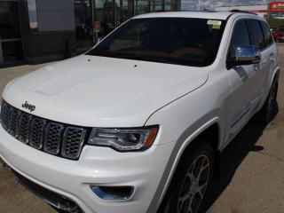 New 2020 Jeep Grand Cherokee Overland 4dr 4WD Sport Utility for sale in Peace River, AB