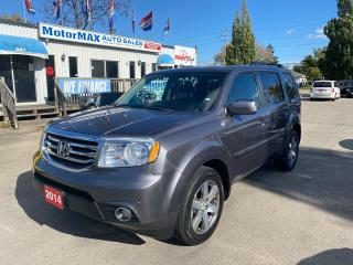 Used 2014 Honda Pilot Touring-AWD-ACCIDENT FREE for sale in Stoney Creek, ON