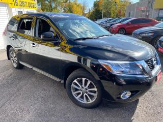 Used 2014 Nissan Pathfinder S/7PASS/LOADED/ALLOYS/ TINTED++ for sale in Scarborough, ON