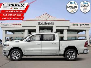 New 2021 RAM 1500 Longhorn - Sunroof for sale in Selkirk, MB