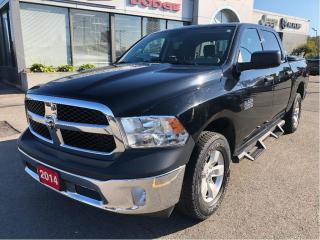 Used 2014 RAM 1500 SXT Crew 4x4 V6 w/Hitch, 3.55 Axle, Chrome Appeara for sale in Hamilton, ON