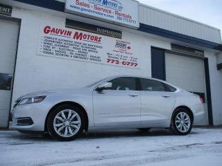 Used 2016 Chevrolet Impala 2LT V6 LOADED LEATHER-WRAPPED SEATS for sale in Swift Current, SK