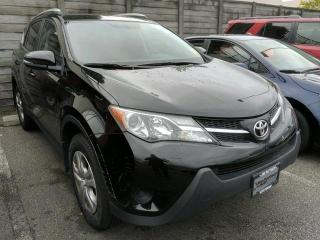 Used 2015 Toyota RAV4 LE FWD, Certified, No Accidents! for sale in North Vancouver, BC