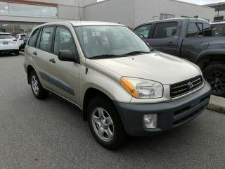 Used 2001 Toyota RAV4 Low KMS, No Accidents! for sale in North Vancouver, BC