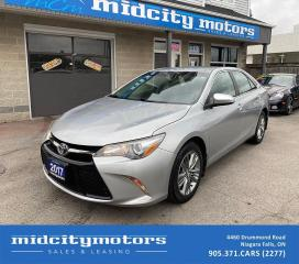 Used 2017 Toyota Camry SE | Backup Cam | Heated Seats | SAFETY CERTIFIED for sale in Niagara Falls, ON