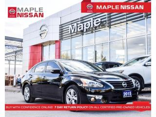 Used 2015 Nissan Altima 2.5 SL Navi Blind Spot Moonroof Rear Cam Bluetooth for sale in Maple, ON