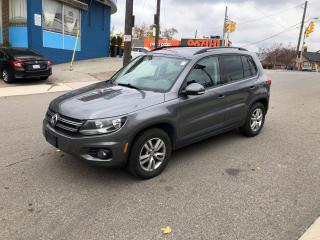 Used 2015 Volkswagen Tiguan COMFORTLINE EXTRATIRESONRIMS AWD  CERTIFIED for sale in Toronto, ON