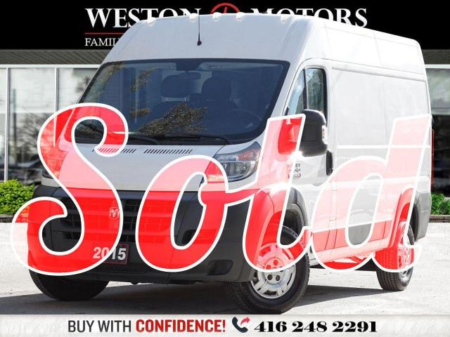 2015 Dodge ProMaster 1500 6CYL*HIGHROOF*POWER CONTROLS*REVERSE CAMERA