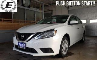 Used 2016 Nissan Sentra SV WITH REVERSE CAMERA/PUSH BUTTON START!! for sale in Barrie, ON