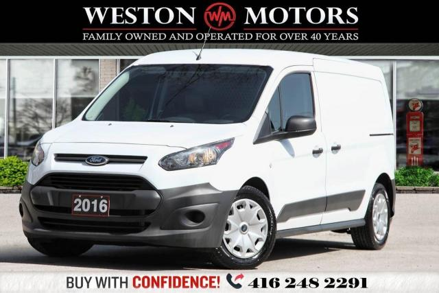 2016 Ford Transit Connect XL*SINGLEDOOR*SHELVING*REVCAM!*LEATHER INTERIOR!*