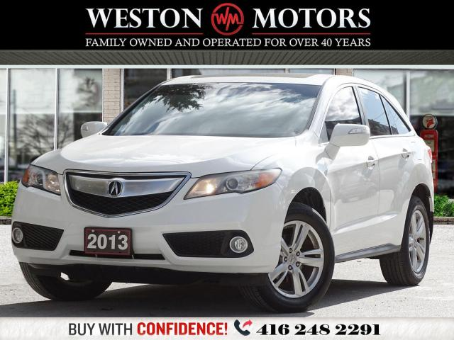 2013 Acura RDX AWD*REV CAM*SUNROOF*LEATHER!!*