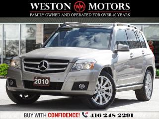 Used 2010 Mercedes-Benz GLK-Class GLK350*LEATHER*PANROOF!!* for sale in Toronto, ON