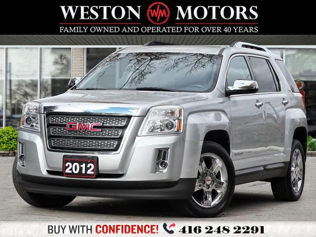 2012 GMC Terrain SLT*NAVI*LEATHER*REV CAM*SUNROOF!!*