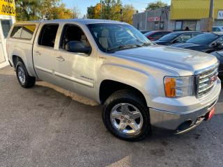 Used 2010 GMC Sierra 1500 SLE/CREW CAB/4X4/ BOX COVER/ PWR GROUP/ ALLOYS + for sale in Scarborough, ON