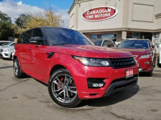 Used 2016 Land Rover Range Rover Sport V6 HST LE for sale in Scarborough, ON