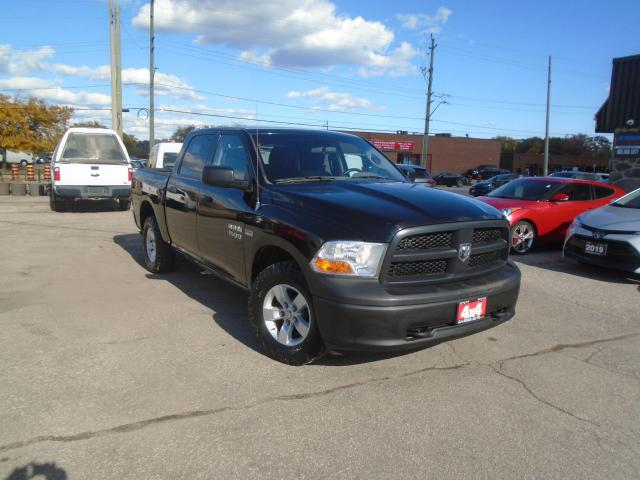 """2012 RAM 1500 4WD Crew Cab 140.5"""" ST LOW KM NO ACCIDENT SAFETY"""