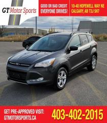 Used 2016 Ford Escape SE  I 4WD | $0 DOWN - EVERYONE APPROVED! for sale in Calgary, AB