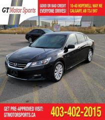 Used 2014 Honda Accord EX-L  | $0 DOWN - EVERYONE APPROVED! for sale in Calgary, AB