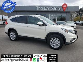 Used 2015 Honda CR-V EX-L Leather Sunroof 1owner Htd Seat rear cam for sale in Winnipeg, MB