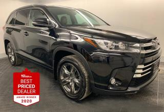 Used 2017 Toyota Highlander AWD LIMITED NAVIGATION ***JANUARY BLOWOUT PRICE*** for sale in Winnipeg, MB