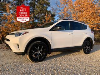 Used 2018 Toyota RAV4 AWD SE *NAVIGATION - HEATED LEATHER - SUNROOF* for sale in Winnipeg, MB