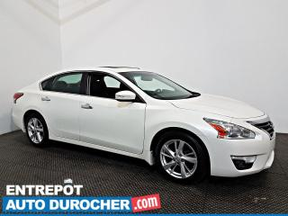 Used 2015 Nissan Altima SL Automatique - TOIT OUVRANT - A/C - Cuir for sale in Laval, QC