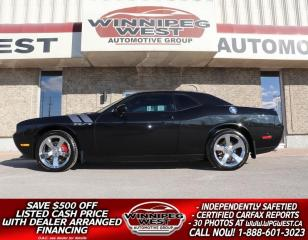 Used 2009 Dodge Challenger R-T HEMI V8, 6 SPEED, MANY MODS, FLAWLESS, LOCAL! for sale in Headingley, MB