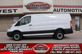 Used 2015 Ford Transit Cargo Van T-250 3/4 TON POWERSTROKE DIESEL, BABACO SECURITY! for sale in Headingley, MB