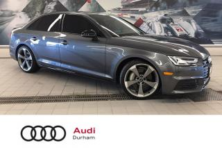 Used 2018 Audi A4 2.0T Progressiv + Black Pkg | S Line | CarPlay for sale in Whitby, ON