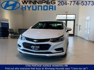 Used 2017 Chevrolet Cruze LT for sale in Winnipeg, MB