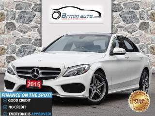 Used 2015 Mercedes-Benz C-Class C300 4MATIC | SPORT | NAV | BLIND | PANO | LED | for sale in Etobicoke, ON