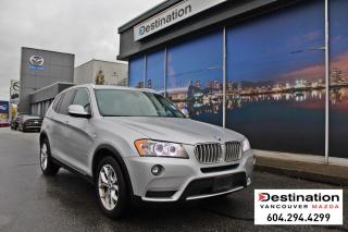 Used 2013 BMW X3 28i - Drive in style with this beautiful X3! for sale in Vancouver, BC