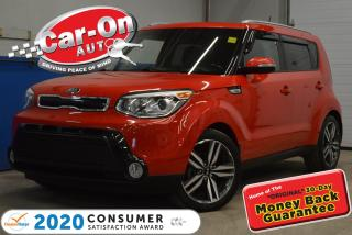 Used 2015 Kia Soul SX LUXURY | LEATHER | SUNROOF | CAMERA for sale in Ottawa, ON
