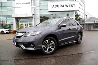 Used 2018 Acura RDX ELITE for sale in London, ON