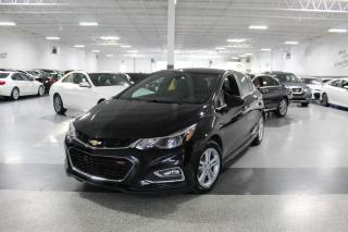 Used 2017 Chevrolet Cruze LT RS I REAR CAM I SUNROOF I BIG SCREEN I HEATED SEATS I BT for sale in Mississauga, ON