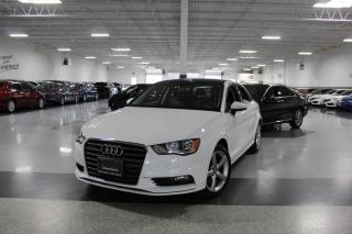 Used 2016 Audi A3 QUATTRO I LEATHER I SUNROOF I HEATED SEATS I POWER OPTIONS for sale in Mississauga, ON