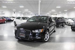Used 2016 Audi A3 KOMFORT QUATTRO I LEATHER I SUNROOF I HEATED SEATS I BT for sale in Mississauga, ON