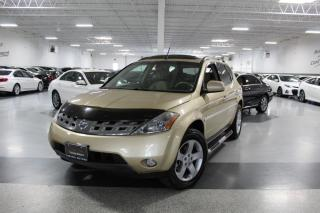 Used 2004 Nissan Murano V6 AWD NO ACCIDENTS I SUNROOF I HEATED SEATS I for sale in Mississauga, ON