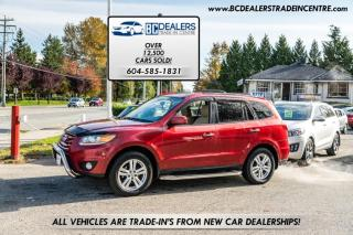 Used 2010 Hyundai Santa Fe AWD V6 Limited, Leather, Sunroof, Heated Seats, Loaded! for sale in Surrey, BC