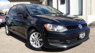 Used 2016 Volkswagen Golf TSI TREND - BACK-UP CAM! ALLOYS! CAR PLAY! HEATED SEATS! for sale in Kitchener, ON