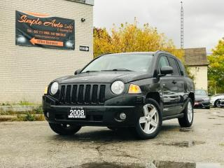 Used 2008 Jeep Compass FWD 4dr Sport for sale in Barrie, ON