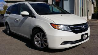 Used 2014 Honda Odyssey EX-L - LEATHER! SUNROOF! DVD! BACK-UP/BLIND-SPOT CAM! for sale in Kitchener, ON