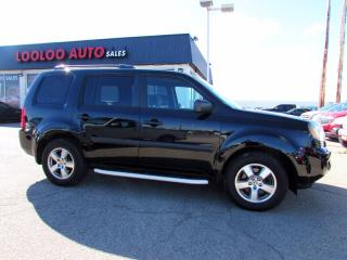 Used 2011 Honda Pilot LX 4WD Auto Roof DVD 8 Passenger Certified for sale in Milton, ON