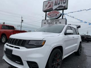 Used 2017 Jeep Grand Cherokee SRT 4WD for sale in Windsor, ON