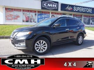 Used 2019 Nissan Rogue AWD SV  AWD CAM BT P/SEATS HTD-SEATS for sale in St. Catharines, ON