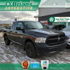 Used 2019 RAM 1500 Classic ST w/Mfg Warranty, 4x4, Backup Camera, Leather, Command Start for sale in Saskatoon, SK