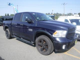 Used 2017 RAM 1500 Outdoorsman Crew Cab Short Box 4WD for sale in Burnaby, BC