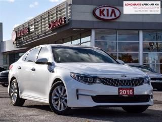 Used 2016 Kia Optima 1OWNR|PANOROOF|LEATHER|NAV| for sale in Markham, ON